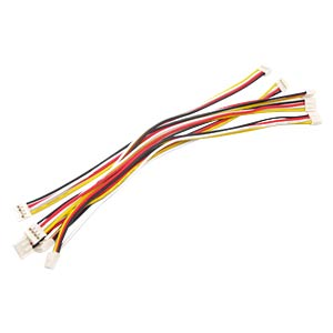 Arduino - Grove Universal-Kabel, 4-Pin, 20cm (5er-Pack) SEEED 110990031