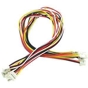 Arduino - Grove Universal-Kabel, 4-Pin, 30cm, fixiert (5er-Pack) SEEED 110990040