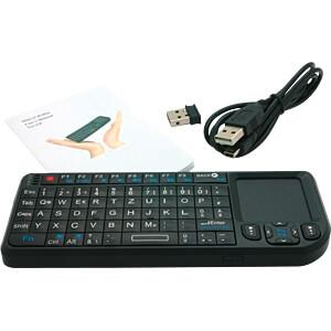 Entwicklerboards - Mini-Keyboard, DE, schwarz SERTRONICS 125104