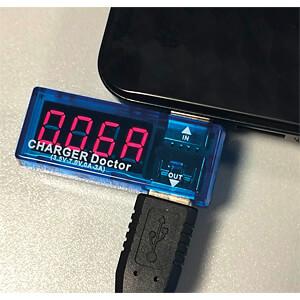 Raspberry Pi - Ampere-/Voltmeter, 1-fach, USB SERTRONICS 125375