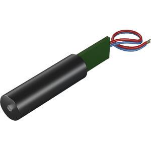Punkt Lasermodul, grün, 532 nm, 3 VDC, 12x60 mm, Klasse 3R PICOTRONIC 70103199