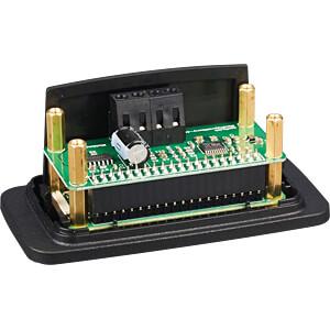 Gehäuse für Raspberry Pi Zero & HiFiBerry MiniAmp, bk HIFIBERRY HIFIBERRY CASE MINIAMP