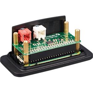 Gehäuse für Raspberry Pi Zero & HiFiBerry DAC+ Zero, bk HIFIBERRY HIFIBERRY DAC+ ZERO CASE