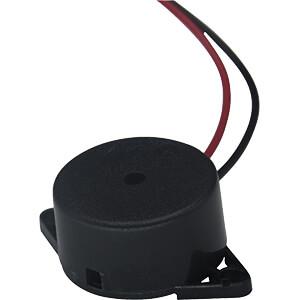 Buzzer, Piezo, Dauerton, Flanschmontage, 90 dB, 3300 … 4300 Hz RND COMPONENTS RND 430-00005