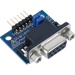 DIGIL 410-068 - Pmod RS232: Serieller Konverter und Schnittstellenadapter