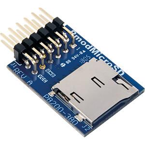 DIGIL 410-380 - Pmod microSD: microSD-Kartensteckplatz