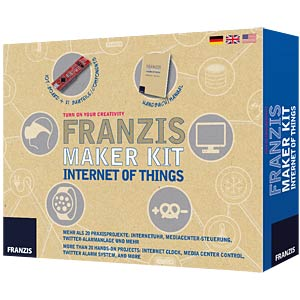 Internet of Things incl. Pretzel Board FRANZIS-VERLAG 978-3-645-65316-9