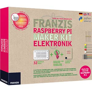 Raspberry Pi - Maker Kit Elektronik FRANZIS-VERLAG 978-3-645-65339-8