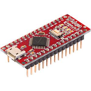 Arduino kompatibles Nano Board, ATmega328, Mini-USB FRANZIS-VERLAG 67006-9