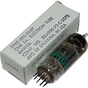 TUBE 6AW8 - Elektronenröhre
