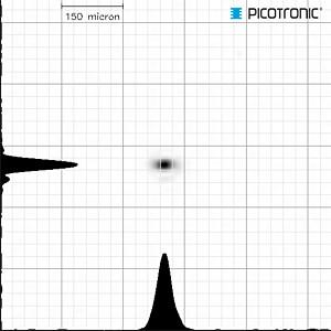 Punkt Lasermodul, infrarot, 850 nm, 6 VDC, 10x27 mm, Klasse 1 PICOTRONIC 70102680
