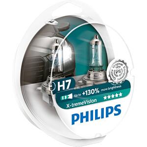 Kfz-Lampe, H7, 2er-Pack, PX26d, X-Treme Vision PHILIPS 12972XVS2