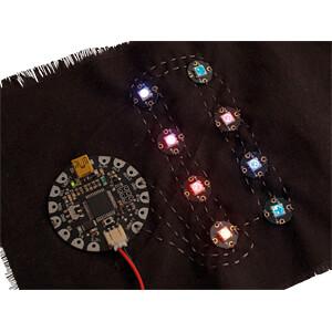 Entwicklerboards - Flora RGB Smart NeoPixel, 4er-Pack ADAFRUIT 1260