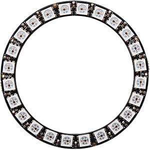 Entwicklerboards - NeoPixel-Ring mit 24 RGB-LEDs ADAFRUIT 1586