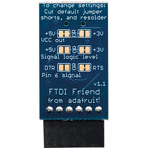Entwicklerboards - FTDI Friend, USB auf FT232RL Adapter ADAFRUIT 284