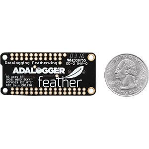 Entwicklerboards - Adalogger FeatherWing, RTC + SD-Erweiterung ADAFRUIT 2922
