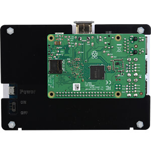 Gehäuse für Raspberry Pi 3 & 5 HDMI-Display WAVESHARE 11189
