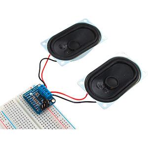 Entwicklerboards - Audioverstärker, Stereo, 3,7 W, Klasse D ADAFRUIT 987