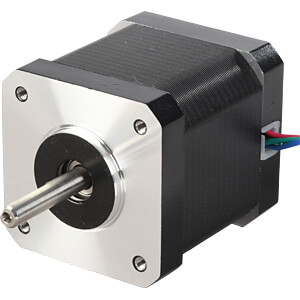 Stepper motor, 4 pole, 1.8 °, 4.2 V DC ACT MOTOR 17HS5415P1-X6