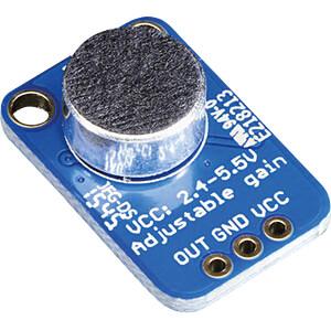 Entwicklerboards - Mikrofonverstärker ADAFRUIT 1063