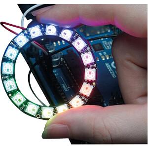 Entwicklerboards - NeoPixel-Ring mit 16 RGB-LEDs ADAFRUIT 1463