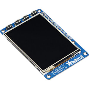 Raspberry Pi Shield - LCD-Touch-Display, 2,8, 320x240 Pixel ADAFRUIT 2298