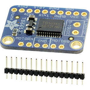 Entwicklerboards - Breakout-Board mit Wechselstrom-/Schrittmotor ADAFRUIT 2448