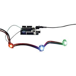 Entwicklerboards - Pixie, verkettbare Smart LED Pixel ADAFRUIT 2741