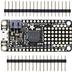 Experimenteerbord - Adafruit Feather 32u4 Basic Proto ADAFRUIT 2771