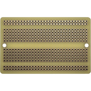 Entwicklerboards - Laborkarte, 81 x 51 mm ADAFRUIT 1609 BREADBOARD PERMA PROTO