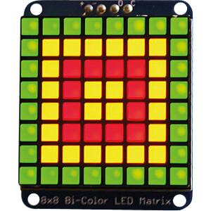 Entwicklerboards - zweifarbige LED-Matrix ADAFRUIT 902