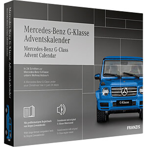 ADV20 67121-9 - Adventskalender 2020 - Mercedes Benz G-Klasse
