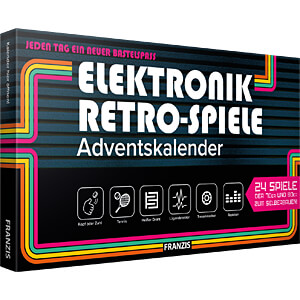 ADV20 67150-9 - Adventskalender 2020 - Elektronik Retro-Spiele