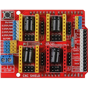 Arduino Shield - CNC-Controllerboard JOY-IT ARD-CNC-KIT1