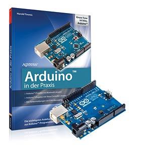 Practical Arduino Engineering + Arduino Uno board FRANZIS-VERLAG 978-3-645-65142-4
