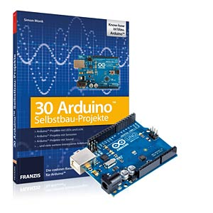 30 Arduino Projects for the Evil Genius + Uno board FRANZIS-VERLAG 978-3-645-65152-3