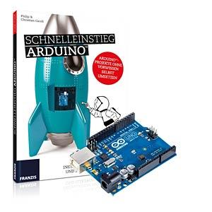Schnelleinstieg Arduino inkl. Platine FRANZIS-VERLAG 978-3-645-65332-9