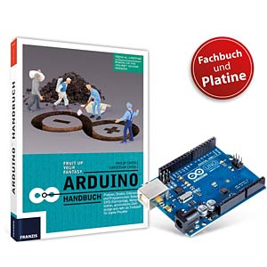 Arduino bundle - available only in German FRANZIS-VERLAG 978-3-645-65330-5