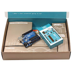 Basics for using Arduino, 225-piece, DE ARDUINO K040007