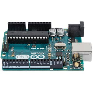Arduino Uno Rev.3, DIP-Variante, ATmega328, USB ARDUINO A000066