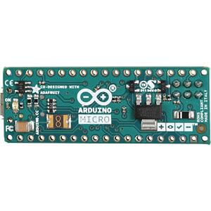 Arduino Micro, ATmega32u4, microUSB, ohne Header ARDUINO A000093