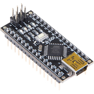 Arduino kompatibles Nano Board, ATmega328, Mini-USB JOY-IT ARD_NANO V3