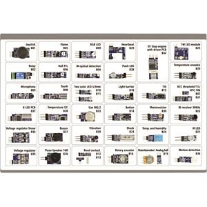 Arduino - 4duino Sensor-Kit 40 in 1, Sensoren und Module ALLNET 4DUINO 40IN1 KIT1