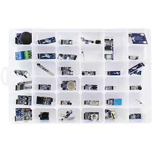 Arduino 40-in-1 sensor kit, sensors and modules ALLNET 4DUINO 40IN1 KIT1