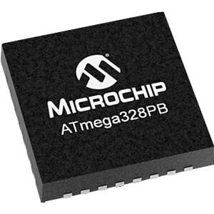 8-Bit-ATMega AVR Mikrocontroller, 32 KB, 20 MHz, VQFN-32 MICROCHIP ATMEGA328PB-MU