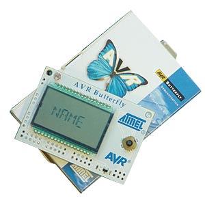 Atmel AVR Butterfly, Demoboard with ATmega169 ATMEL ATAVRBFLY