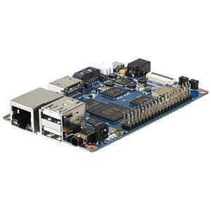 Banana Pi M2U, 1,5GHz Quad, 2GB RAM, BT, WLAN inkl. 3db Antenne SINOVOIP BANANAPI-M2U