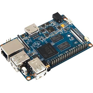 Banana Pi M2, 1 GHz quad, 1 GB DDR3, WIFI SINOVOIP BPI-M2