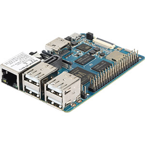 Banana Pi M2 Berry, 1,2 GHz Quad, 1 GB DDR3, Wi-Fi SINOVOIP BANANAPI-M2-BERRY