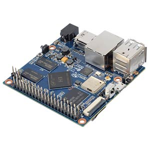 Banana Pi M2+, 1GHz Quad, 1GB RAM, BT, WLAN inkl. 3db Antenne SINOVOIP BANANAPI-2+